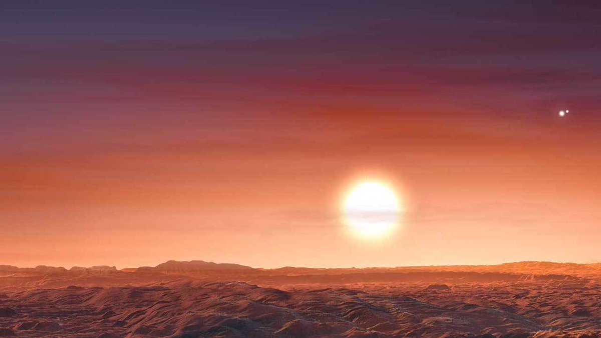 📣Discovery Alert!📣 A new exoplanet has a sky that one-ups Star Wars Tatooine – three stars instead of two. LTT 1445 A b swelters under three red suns. Its a hot, rocky world only 22 light-years💡⤳ away. Welcome to the family, LTT 1445 A b! go.nasa.gov/30r9zME