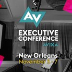 Image for the Tweet beginning: Come to the AV Executive