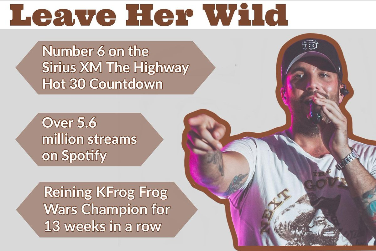 Over 5.6 Million Streams  13 week reigning Frog Wars Champion  and #6 on Sirus countdown  How are you listening to it today? Let radio know you want to hear it, that you want to see @TylerRichMusic play in your town, & keep streaming  #LEAVEHERWILD  https:// livingthetylerrichlife.weebly.com/request.html    <br>http://pic.twitter.com/HTUHKIOvuX