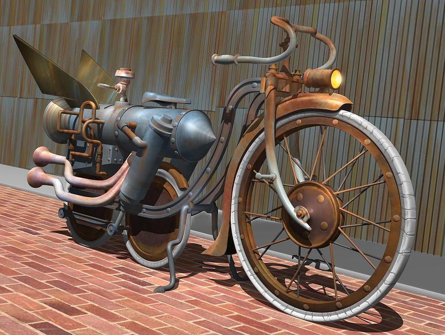 I don't own a bicycle at the moment, but when I do, I want this one.  #amwriting #writingtips #writerslife #writing #WritingCommunity #steampunk #amreading #sciencefiction #writer
