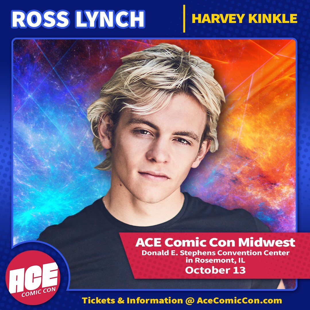 ROSS LYNCH - Signing Opportunity  The next guest at @ACEcomiccon Midwest is @RossLynch - known for his role on Netflix's The Chilling Adventures of Sabrina & Disney's Austin & Ally! Now accepting items as an official send in partner. Visit https://t.co/4QMW8a6Btp for details https://t.co/X3poq22hXL