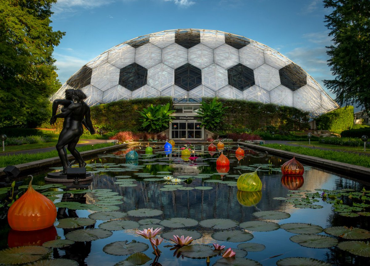 Mo Botanical Garden On Twitter Thinking About Redecorating The Climatron After Today S Mls4thelou Announcement Welcome To St Louis Mls Mls4thelou Stlmade Https T Co Gbe63rsbjk