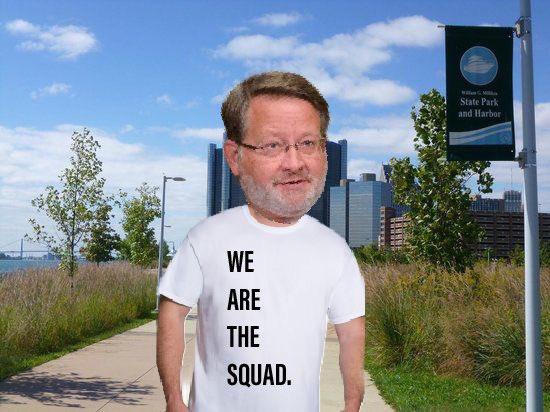 Got a new T-shirt! #WeAreTheSquad #TheSquad