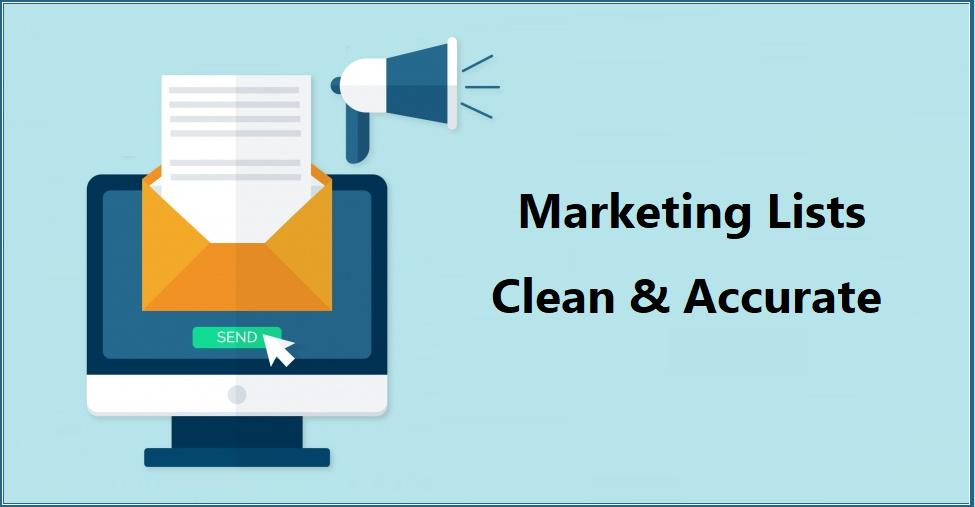 How to keep your Marketing Lists Clean & Accurate