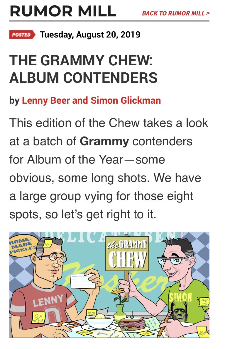 .@BTS_twt is included as a long shot for Album of the Year for the Grammys.    http:// hitsdailydouble.com/news&id=317612 &title=THE-GRAMMY-CHEW:-ALBUM-CONTENDERS   … <br>http://pic.twitter.com/EHCne6fwjG