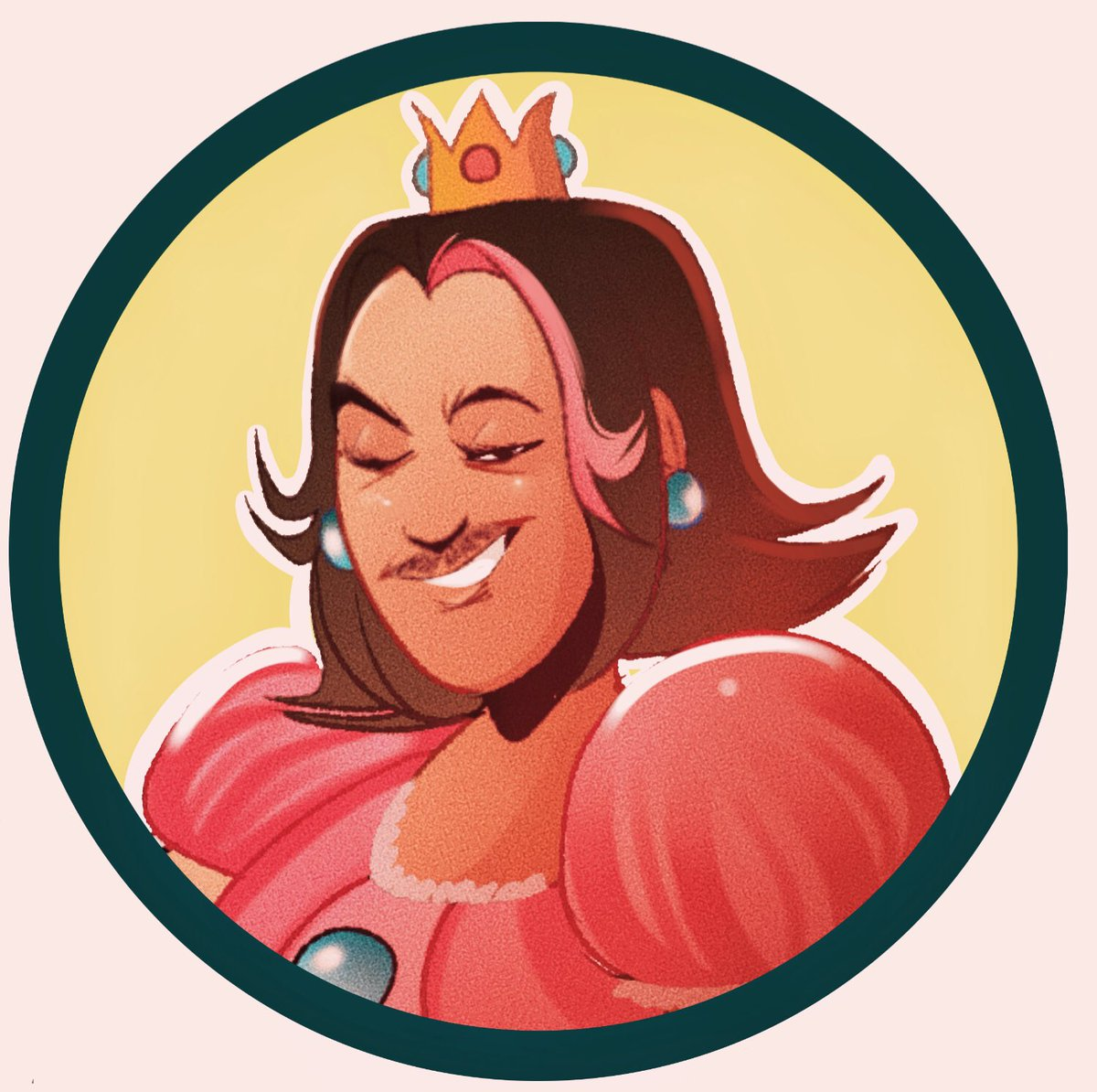 Colored this doodle of @egoraptor for fun inbetween commissions :)! #gamegrumps