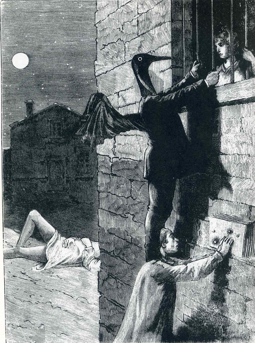 """Illustration to """"A Week of Kindness"""", 1934 #ernst #surrealism<br>http://pic.twitter.com/RUNGX4WoeF"""