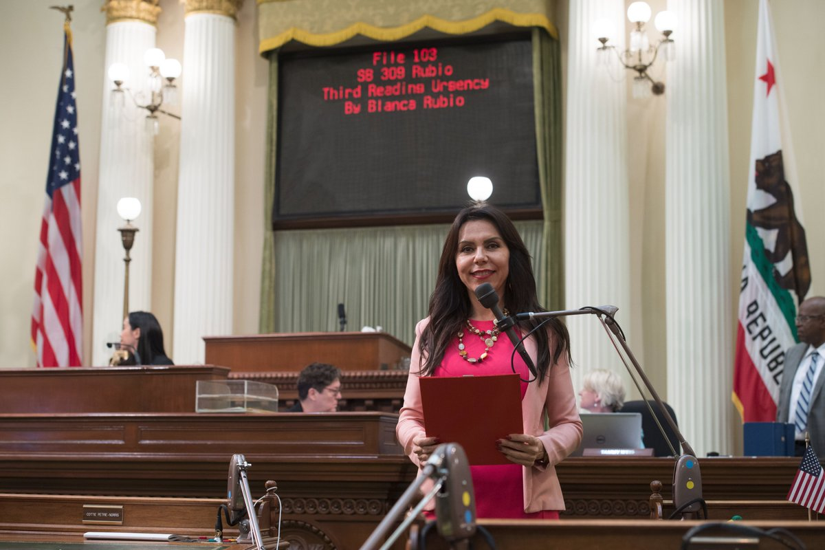 Yesterday, for the first time in California history, a Senate Bill was jockeyed on the Assembly Floor by the Sister of the Author. It was an honor to not only present this bill on behalf of @SenSusanRubio but also in support of the aging population in California #Fighting48th<br>http://pic.twitter.com/jOsVu8zXdu