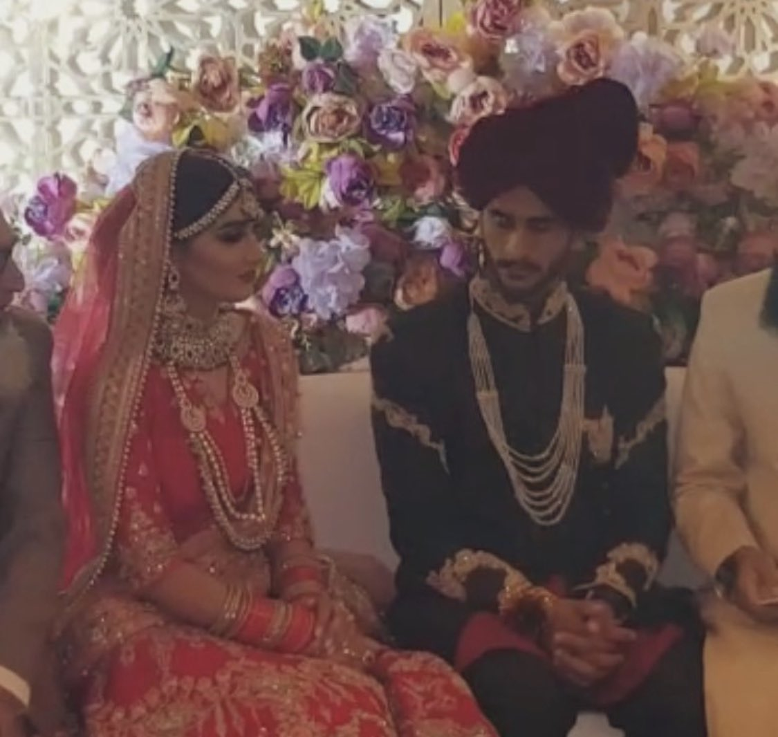 MashaALLAH...Congratulations! @RealHa55an Wishing you and your life partner a future of Happiness, Love and Respect...