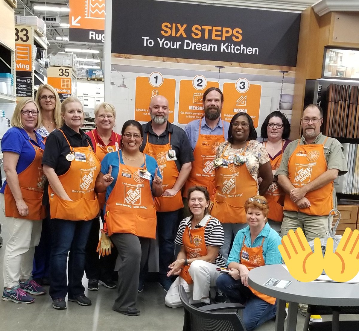 Winter Park 6349 Specialty Team!  Learning About Countertops, Fridges & more!!! #VOA365 #keepingmovingforward<br>http://pic.twitter.com/jW6LYN18gd
