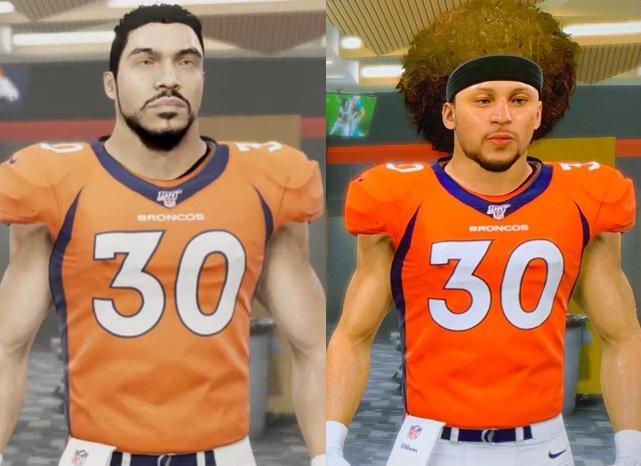 EA Sports finally fixed Phillip Lindsay's 'Madden 20' avatar
