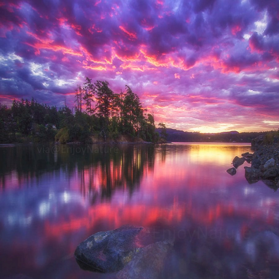 Night Ocean sunset at Vancouver Island B.C.,Canada #INDIGENOUS #TAIRP<br>http://pic.twitter.com/SUQuUY9OI9