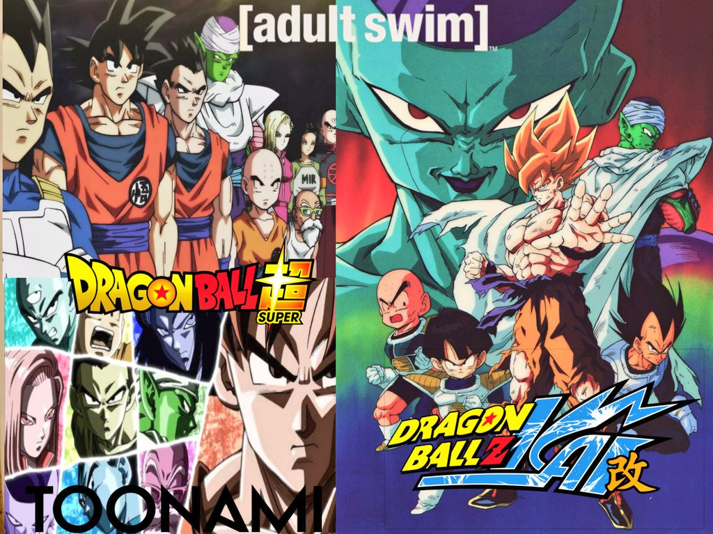"""#DBZKai episode 45 rerun ratings on [adult swim] """"318,000"""" at 8:00 PM #DragonBallSuper episode 123 rerun ratings on [adult swim] """"266,000"""" at 8:30 PM #DragonBallSuper episode 124 premiere ratings on #Toonami """"771,000"""" at 11:00 PM  Thanks @SonOfTheBronx/@TheDouglasPucci<br>http://pic.twitter.com/zIQZfIMy6u"""