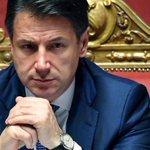Image for the Tweet beginning: Crisi, Conte oggi al Senato: