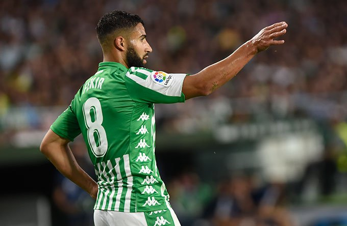 Fekir ya destaca en #LaLigaSantander. El jugador del Real Betis fue el que más regates realizó en la primera jornada dsmrq.es/rbb1167948
