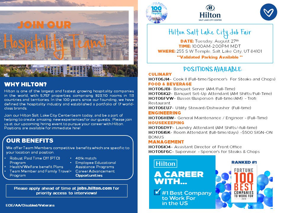 Hilton Recruiter (@HiltonRecruiter) | Twitter