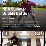 2019 #NBAFinals : Have you tried the NBA Summer Shootout or NBA Summer Dribble Battle on HomeCourtai yet? Join the global challenges and show us what you got for a chance to win a Spalding basketball! #HomeCourtNBA   📲 https://t.co/ItUzhYbVh7 📲 … https://t.co/iYfngcDzVI) https://t.co/zIYLiAf5K4