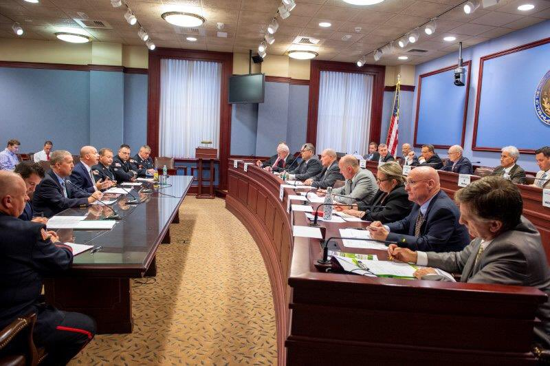 Today's hearing on HB 759. Trying to figure out how to support PA's volunteer fire companies. Better.