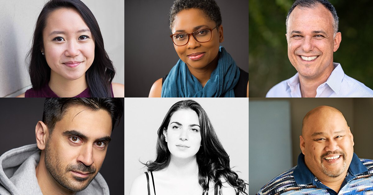 Exciting news!!! Meet our 2019/20 season Geffen Playhouse Writers' Room playwrights! We can't wait for this tremendous group to start working together! Congratulations to all! #WritersRoomGP 🖊🎭💻 @IndaCraigGalvan @OriginalRamiz @thechloehung Details ⬇️⬇️ blog.geffenplayhouse.org/19-20-writers-…