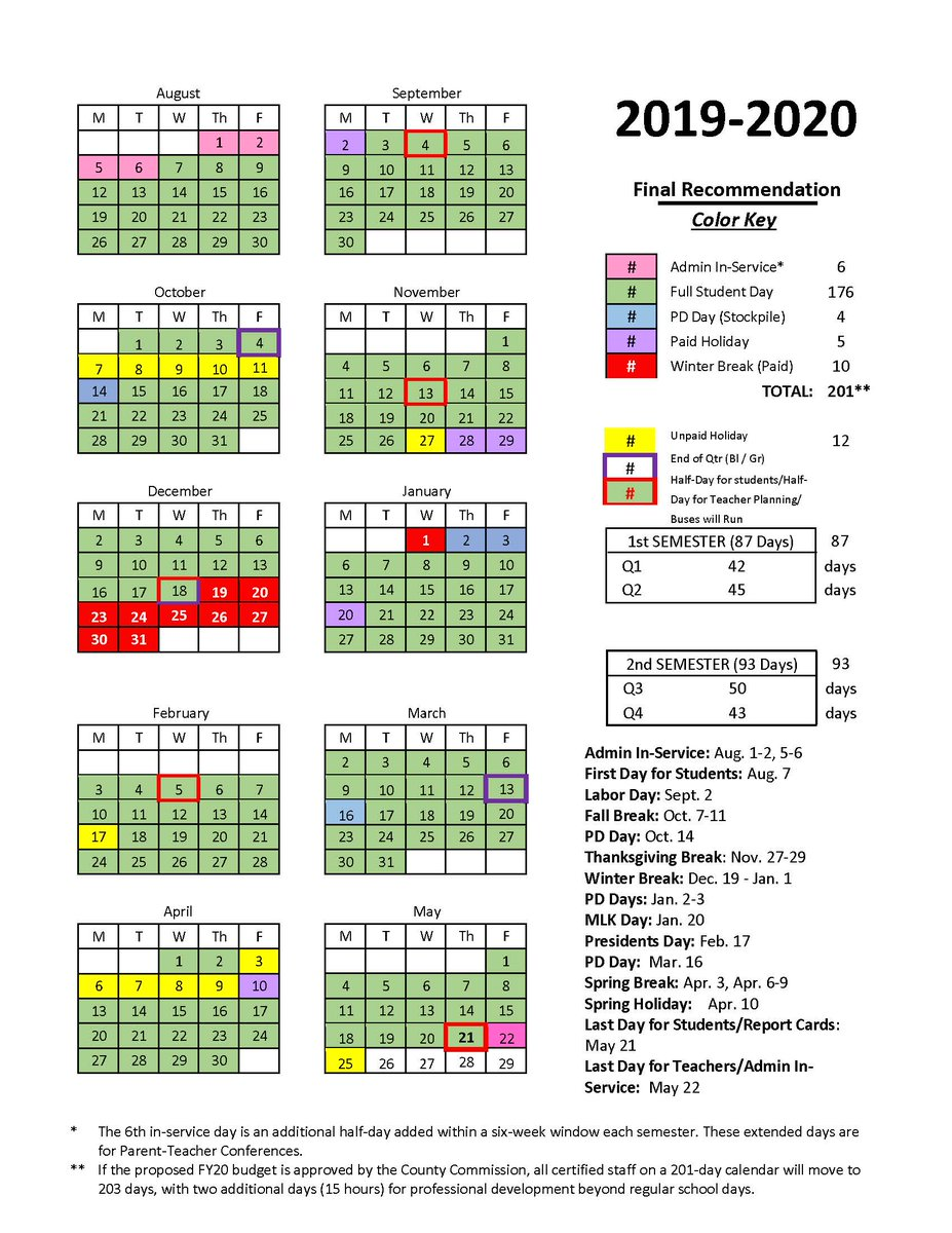 Hamilton County School Calendar 2016 2020 Hamilton County Schools (@hamcoschools) | Twitter
