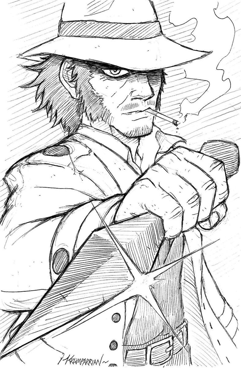 The most badass oldman in anime manga history