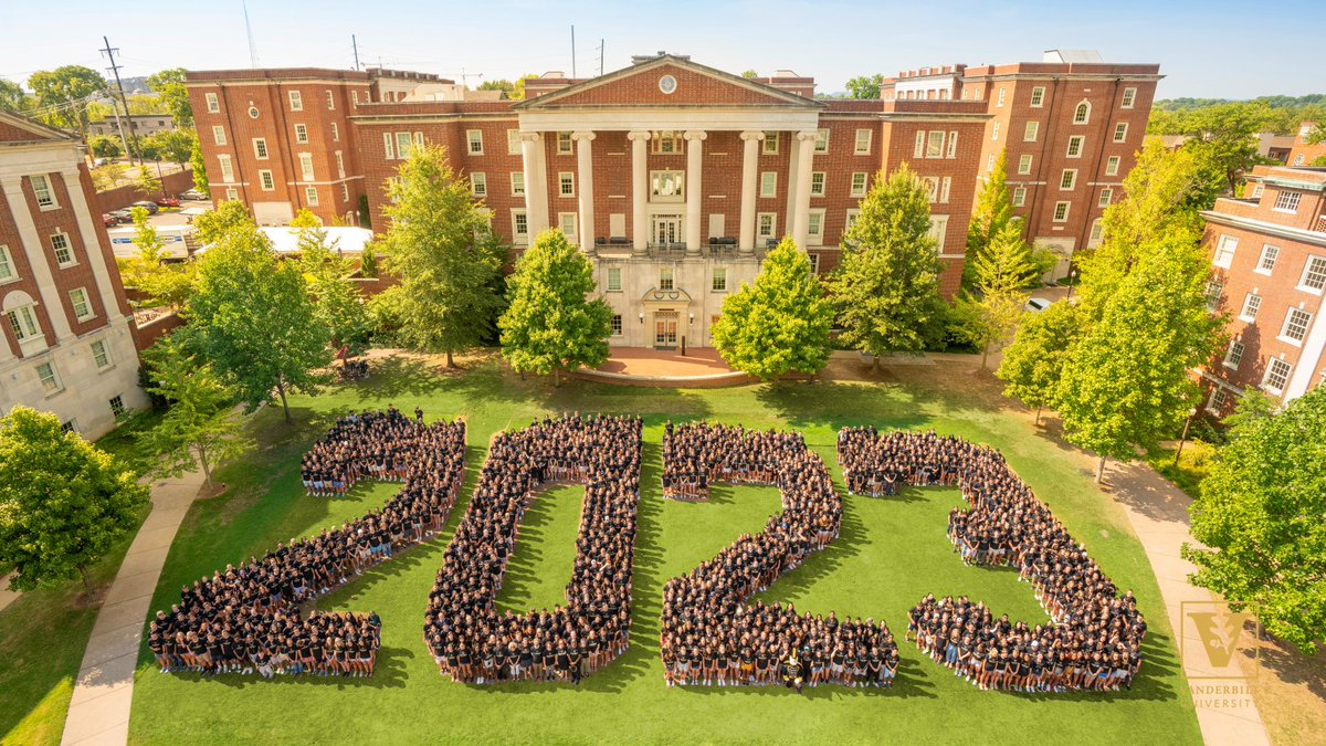 #VU2023 is officially part of the Commodore family! Join us in welcoming them by replying with one piece of advice for our incoming students. 💛🖤 Well go first: remember, you can never be too loud when throwing the #AnchorDown sign! 😉