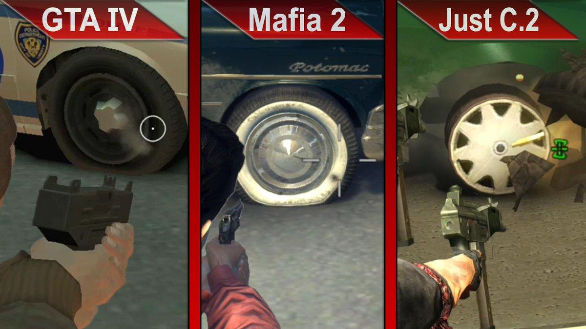 gta 4 vs mafia 2