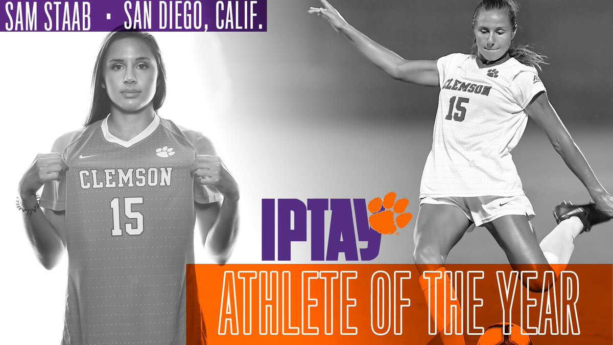 Former Tiger @SamStaab_ was recently announced as the 2018-19 @iptay_ Athlete of the Year! #ClemsonFamily <br>http://pic.twitter.com/si8Hqy9bSg