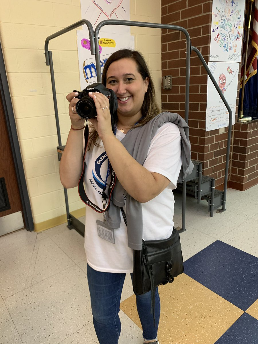 Shout out to our amazing communications team @cateked and @mwalstrom12 for always being on in capturing our #WeAreD34 stories and celebrations! Excited to welcome in a new year @glenview34! 👏#WBPandas