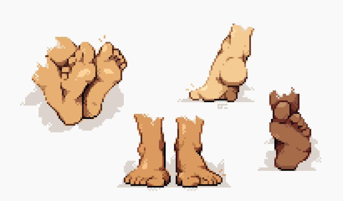 Ollie Jamie On Twitter Feet Pixelart