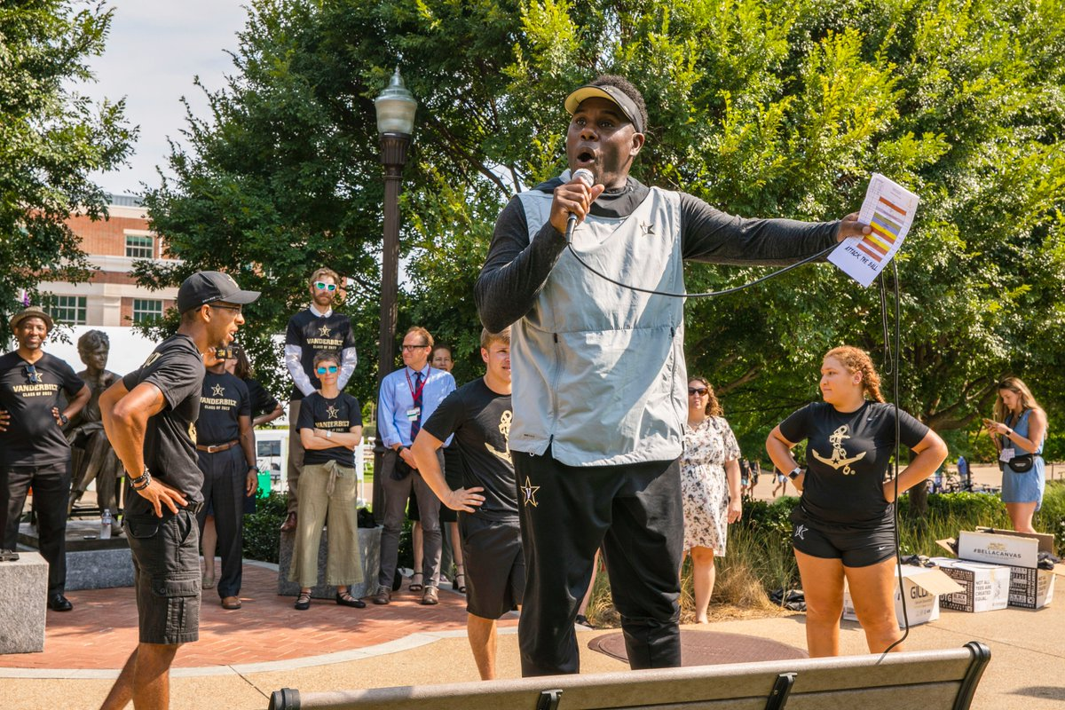 Happy first day of class, Commodores. 📣 Yesterdays #VU2023 pep rally was a success. Well see you very soon. #AnchorDown