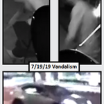 Image for the Tweet beginning: Help us identify this #vandalism
