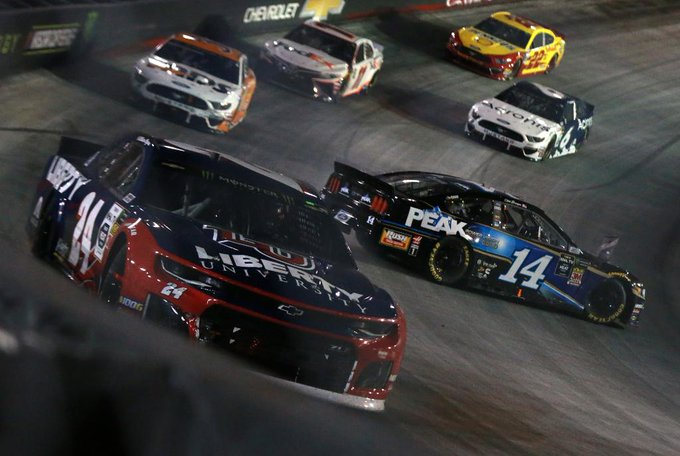 It was an interesting night race for @StewartHaasRcng who placed two drivers in the top 10 and two drivers 29th or worse.  @BMSupdates | #ItsBristolBaby