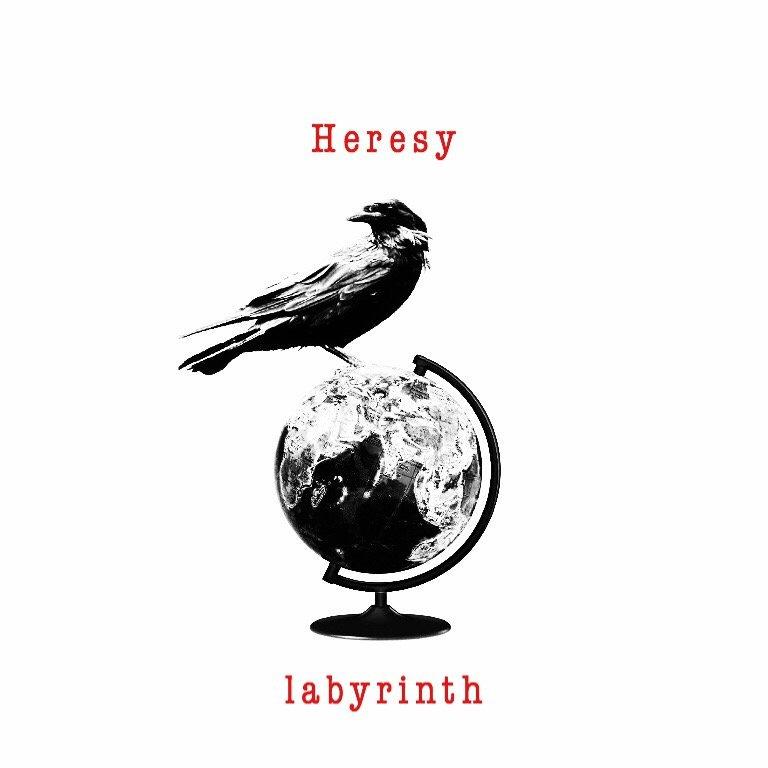 """ついに!本日Heresy 2nd Digital EP """"labyrinth"""" 配信開始しました👏✨✨✨聴いて予習して今夜は渋谷CYCLONEへGO!!!みんなで盛り上がろう〜🤘😎チケットの取り置きはDMにて!▶Googleplay▶iTunes ▶Spotify"""
