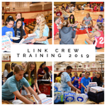 Image for the Tweet beginning: Our Link Crew is training