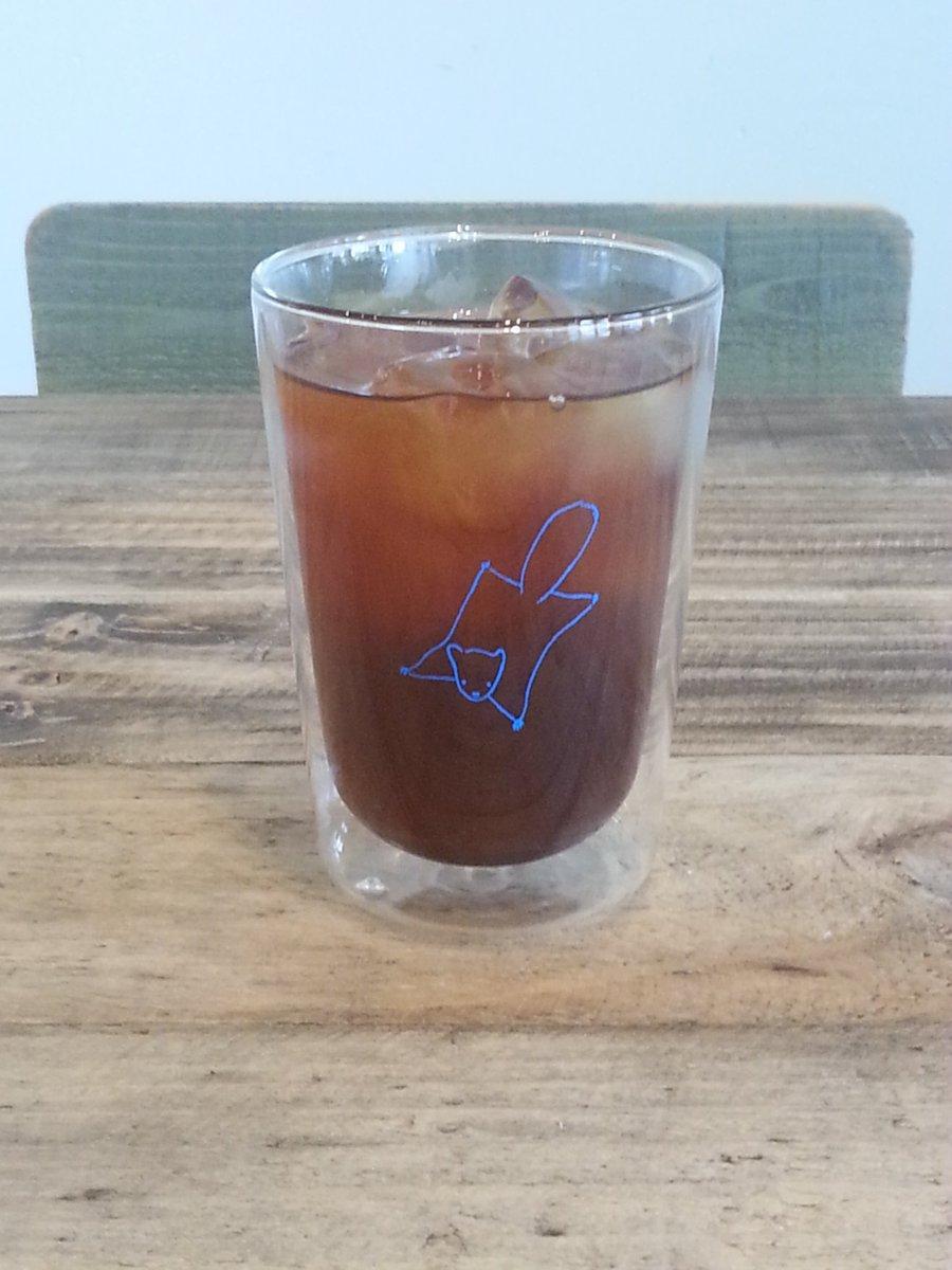 【プレゼントにいかがですか②:ももんがカフェのグラス】HOTも大丈夫な耐熱ガラス製で結露しない2重構造の、ももんがカフェのグラスです♪コーヒー豆と一緒にプレゼントもよいですね♪#ももんがカフェ  #日野  #豊田  #立川  #プレゼント  #府中  #Coffee  #coffeetime  #ギフト  #贈り物  #お中元  #返礼品