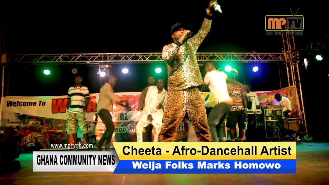 Cheeta. Another dope Afro Dance Hall act from Ghana 🇬🇭