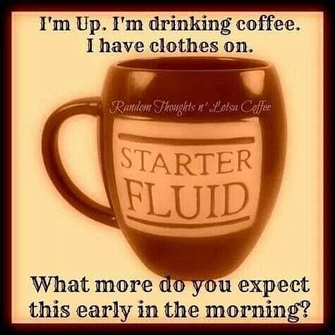 Morning my Freaky Darlings! Im at work and I have coffee. Yeah, thats about it for this early in the morning. Hope you have a fantastic day. #morningcoffee  #coffee  #coffeehelpsmeperson  #coffeecoffeecoffee  #coffeetime