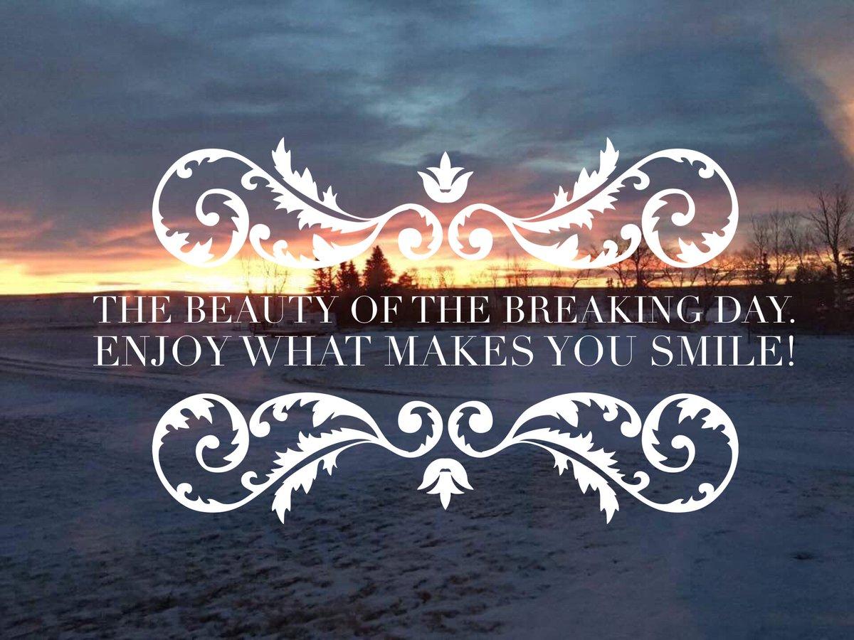      The #Beauty  of the Breaking #Day .  Enjoy what makes you smile!     . ==>  http://bit.ly/EnergytoburnSixDayExperience  …