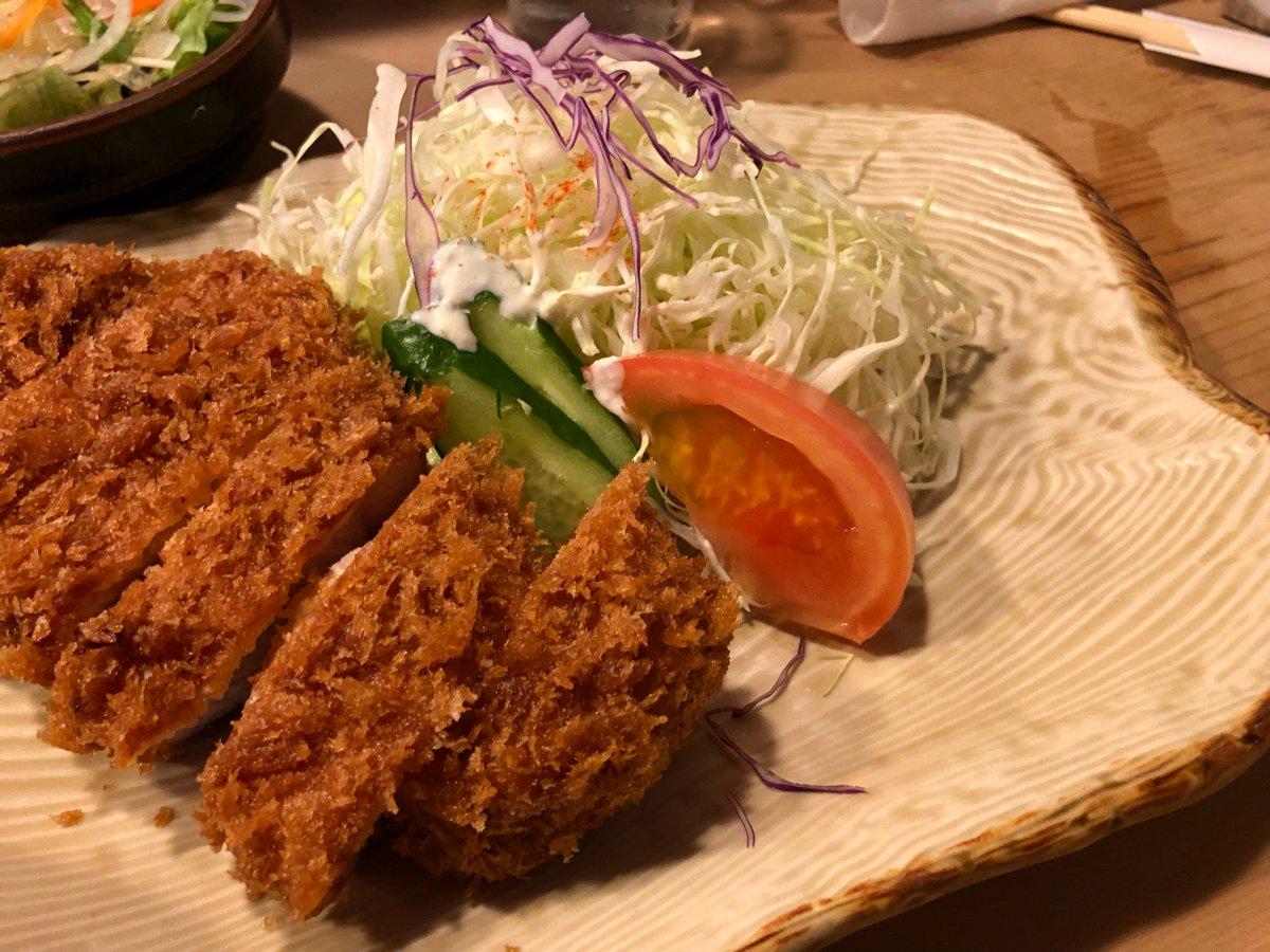 25日に閉店なので、寄りました。ソースなしで食べられる美味しいとんかつです。 (@ とんかつ ほりき in 市川市, 千葉県) https://t.co/D1o6QOCMsp