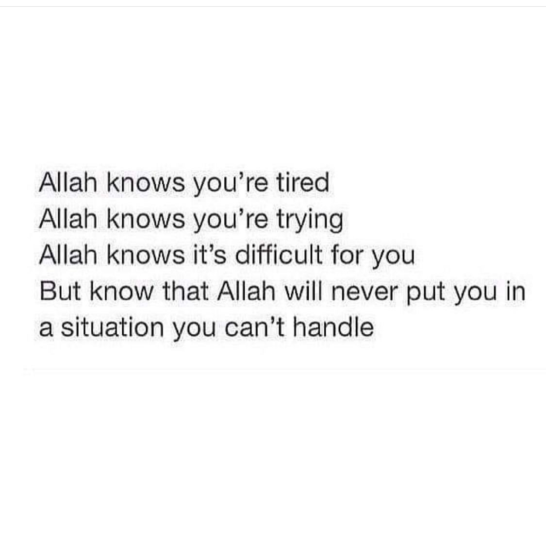 allah know)