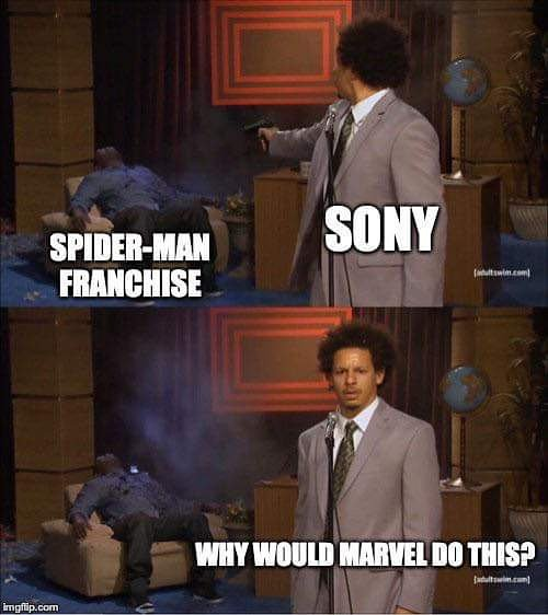 #meme  #memes  #memesdaily  #lol  #lmaoo  #lmfao  #comedy  #funny  #dark  #brutal  #SpiderManFarFromTheMCU  #spiderman