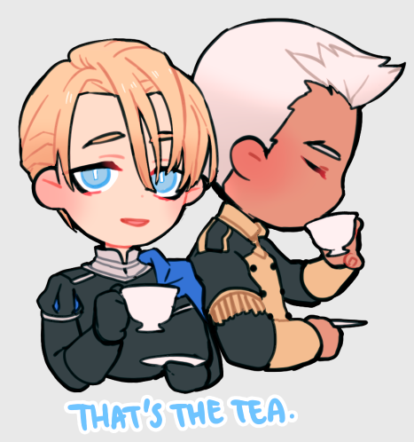 I made a few last minute sticker designs for NDK! #FE3H<br>http://pic.twitter.com/S9qQrnQ51D