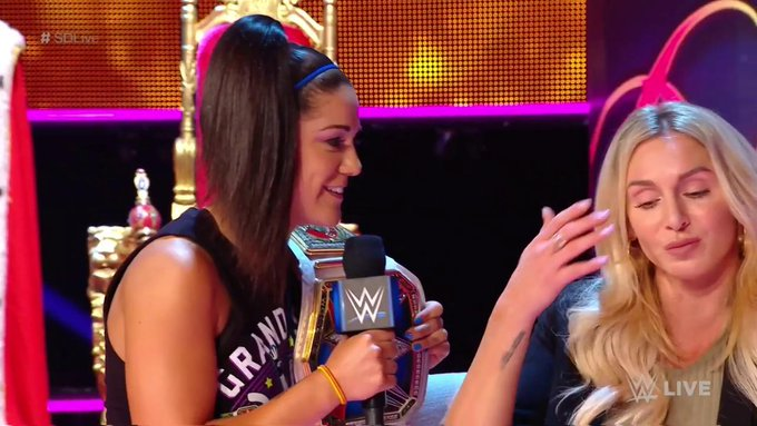 Charlotte Flair Vs. Bayley Set For WWE Clash Of Champions
