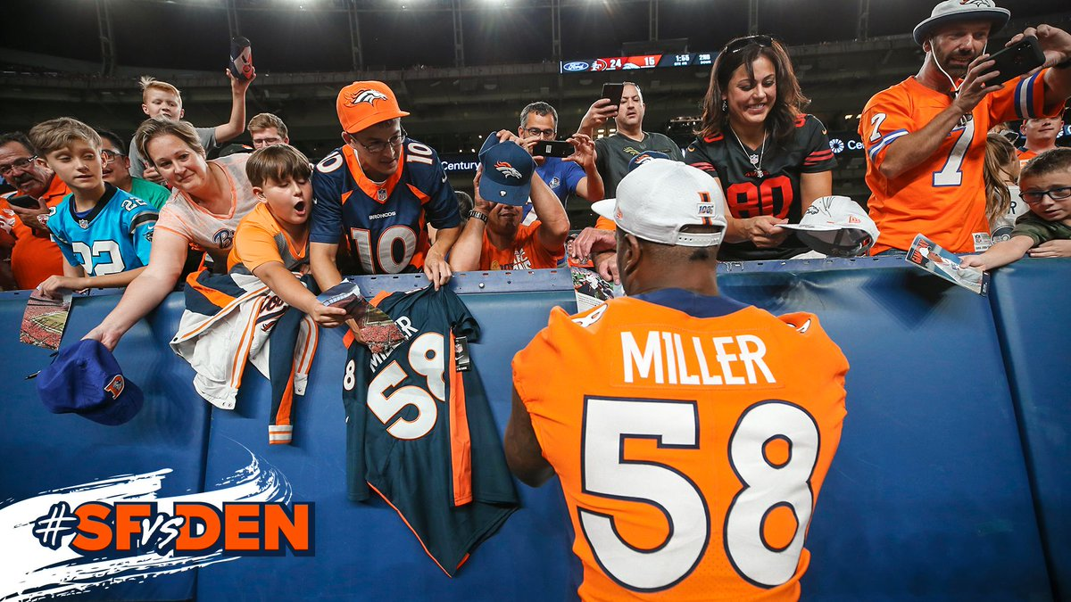 There's nothing like playing in front of you, #BroncosCountry.  📸's »