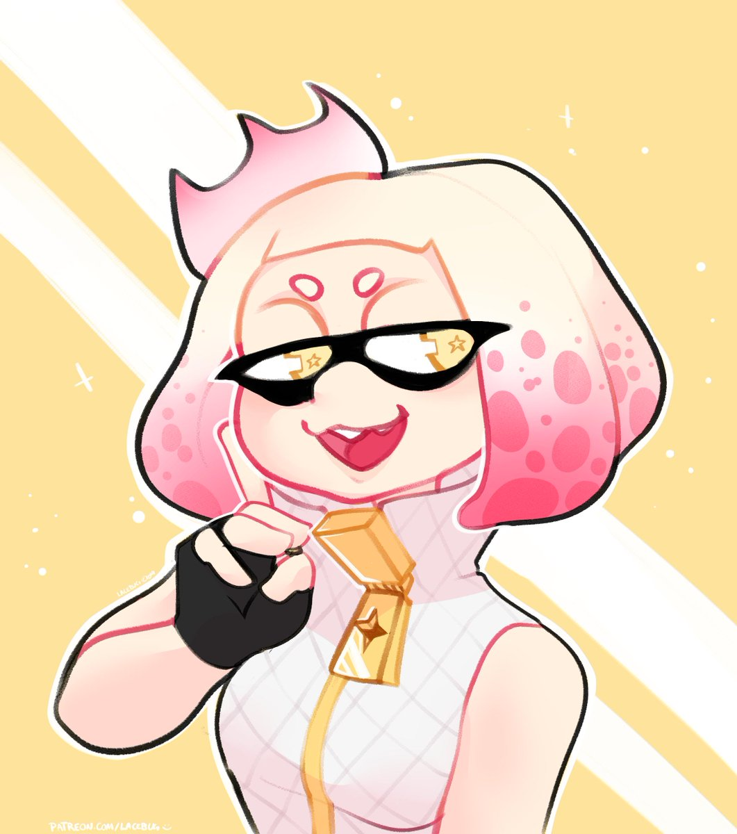 I've never played splatoon but Pearl emits a level of chaotic energy that cannot be rivaled<br>http://pic.twitter.com/zJhrZTzyUU