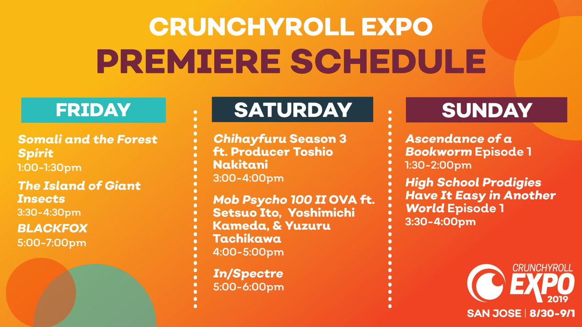 Crunchyroll Expo on Twitter: