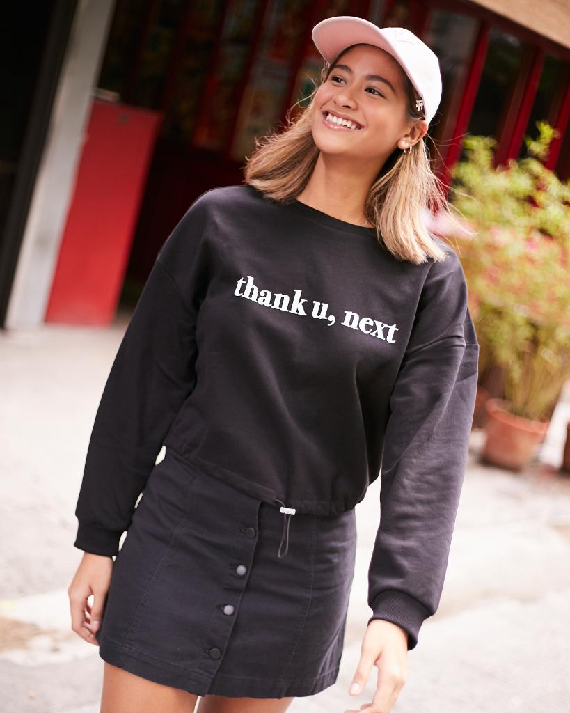 Go get that cool girl look just like @pingpongponggay with our #thankunext hoodie + cap combo! #HM<br>http://pic.twitter.com/iA6tsW3jcI