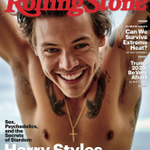 Image for the Tweet beginning: Harry Styles, hairless-style. Looking cute