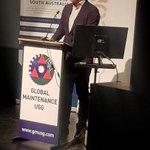 Image for the Tweet beginning: Premier Marshall addressing the USG